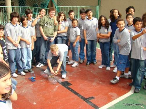 2008 - Alunos do Colégio Cruzeiro - Centro em Olimpíada de Astronomia