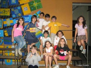 2008 - Noite do pijama no Colégio Cruzeiro - Jacarepaguá