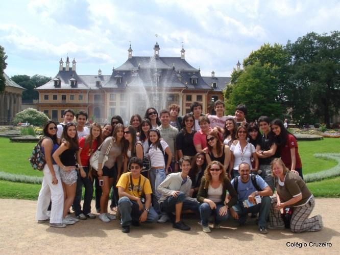 2008 - Viagem de Estudos à Alemanha do Colégio Cruzeiro - Jacarepaguá