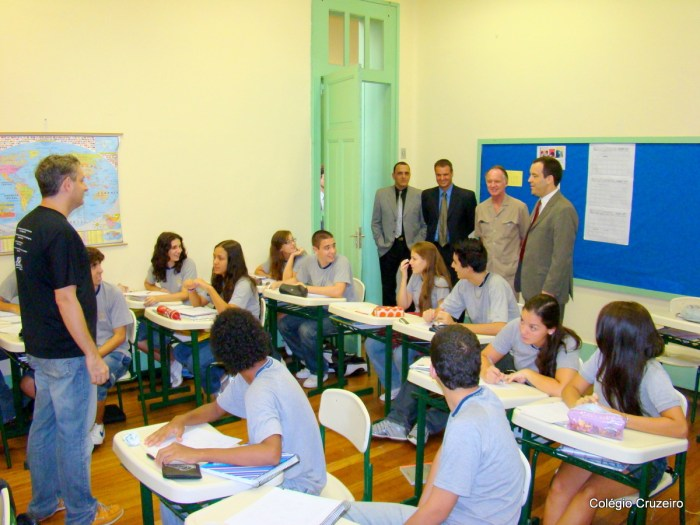 2008 - Visita do Cônsul da Alemanha ao Colégio Cruzeiro - Centro