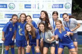 2015 - Equipe do Colégio Cruzeiro - Centro ma Copa Goethe, realizada no Colégio Corcovado