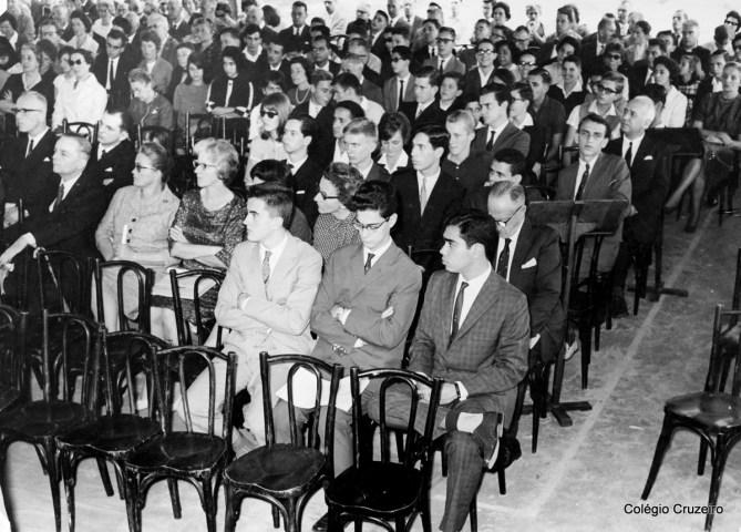 1962 - Comemoração do Centenário do Colégio Cruzeiro - Centro