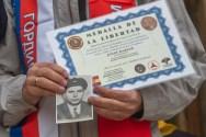 Entrega de diploma a la delegación rusa Torija. Óscar de Marcos/FMGU
