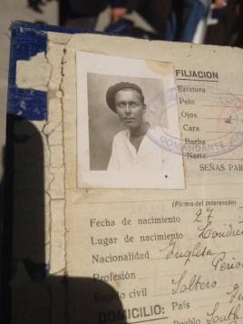 Carnet de un brigadista británico. Xulio Garcia/FMGU