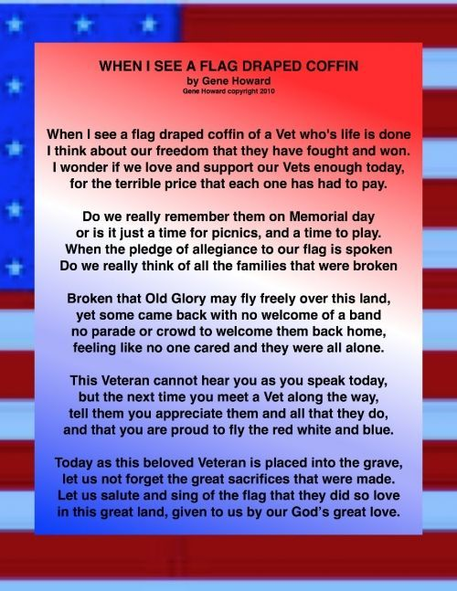 patriotic poems for memorial day
