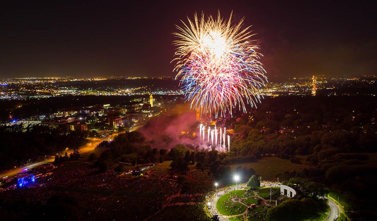 Fireworks - Memorial Park Concert 2019