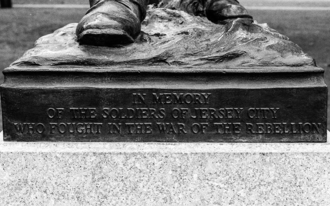 Civil War Memorial, Lincoln Park, Jersey City, NJ