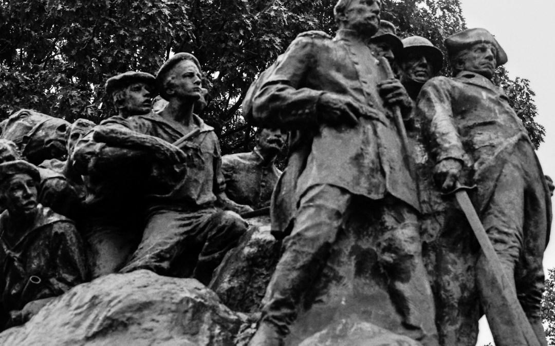 Wars of America Memorial, Military Park, Newark, NJ