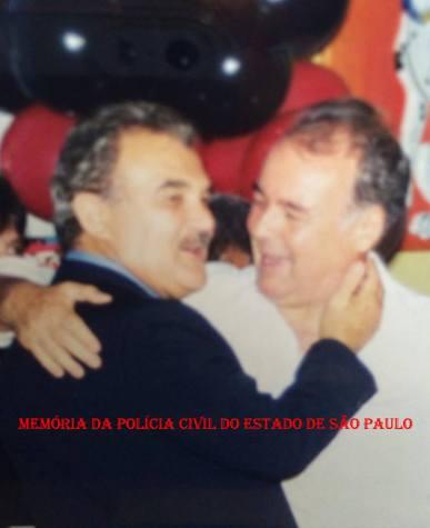 Os saudosos Delegados Jair de Castro Oliveira Vicente e Arcy de Castro Oliveira Vicente, irmãos que fizeram história na Polícia. ( Acervo da filha Isabela Silva Vicente e Paula Silva).