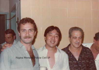 "Na época Investigadores de Polícia Paulo Sérgio Opidio Fleury, Roberto Kawai (Posteriormente Delegado) e Rui Frederico ""In memoriam""."