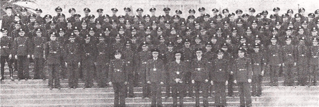 Corpo de Rádio Patrulha do Estado de São Paulo, comandada pelo Delegado de Polícia Moysés Marx, na década de 30.