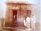 Posto Policial do Município de Candido Motta, no início do século XX.