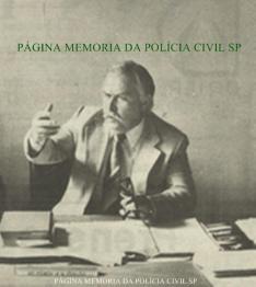 Delegado de Polícia da antiga Divisão de Homicídios do DEIC, Pedro Klianca (hoje na advocacia), na década de 80.