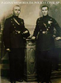 Integrantes da extinta Guarda Civil do Estado de São Paulo, em 1.930.