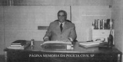 """Delegado de Polícia José Geraldo de Camargo, carinhosamente chamado pelos amigos como """"Picolé"""" , """"in memoriam""""."""