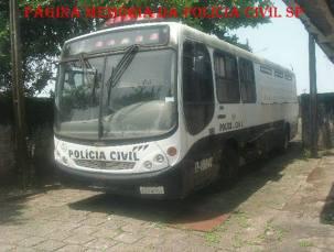 Ônibus do DECAP, na década de 90. (acervo do Investigador Márcio Prado).