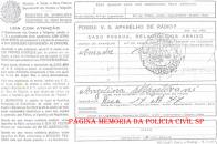 Registro de aparelho receptor de radio difusão (rádio residencial comum), em 1.947.