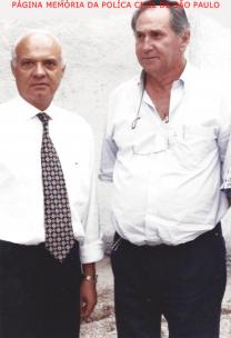 Delegado Djhay Tucci Junior e Investigador Serafim Marcelli, trabalharam juntos em Jundiaí por muitos anos.