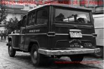 Viatura marca Rural Willys, da Inspetoria de Plantão da extinta Guarda Civil do Estado de São Paulo, na década de 60. (Acervo de Douglas Nascimento, Jornalista, fotógrafo e pesquisador independente, editor do o site São Paulo Antiga).