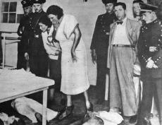 Guarda Civil em 11 de abril de1938 (tragédia do cine Oberdan).