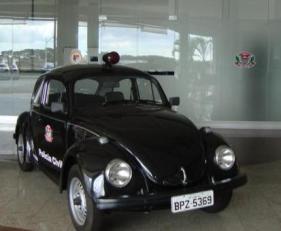 """Viatura VW- Sedan """"Fusca""""."""