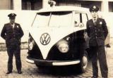 Viatura VW Kombi da Rádio Patrulha, década de 60