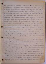 página 2 do manuscrito do Livro Investigação Policial do Delegado de Polícia Coriolano Nogueira Cobra, (enviada pelo Dr. Miguel Voigt Jr.)