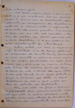 página 4 do manuscrito do Livro Investigação Policial do Delegado de Polícia Coriolano Nogueira Cobra, (enviada pelo Dr. Miguel Voigt Jr.)