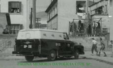 Viatura da Rádio Patrulha da Polícia de São paulo, na década de 60.
