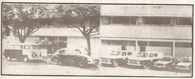 Delegacia de Polícia de Jales, anos 80.