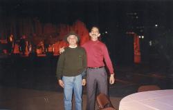"""Dois Delegados de Polícia com """"D"""" maiúsculo. Djahy Tucci e Wander Maia """"ïn memorian"""", em 1.996. — em Phoenix (Arizona)."""
