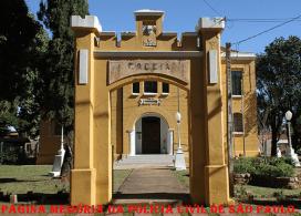 Antiga Cadeia Pública do Município de Itapira/SP A construção foi iniciada em 1905, sendo inaugurada em 1910.