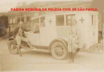 Assistência Policial (Ambulância), início do século XX.
