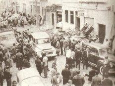 Batida Policial realizada na zona do meretrício da Capital (área do 3° DP), capitaneada pelo então atuante delegado, Dr. Rubens Liberatori, na década de 60.