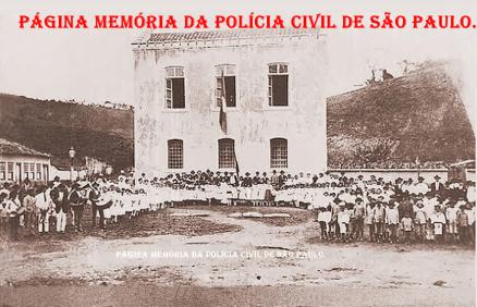 Cadeia Pública do Município de Silveiras/SP, no dia de sua inauguração, em 7 de setembro de 1.914.