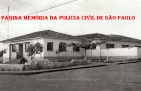 Delegacia de Polícia do Município de Mirassol, na década de 50.