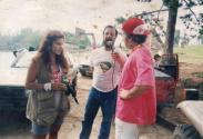 Delegado de Polícia George H Millard (hoje aposentado), na primeira e única trilha do Engesa, no Raid do Baton em Embura perto de Marcilak, em entrevista com o apresentador Octavio Mesquita, em meados da década de 80. Marcar fotoAdicionar localEdit