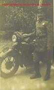 Policial morociclista da extinta Guarda Civil do Estado São Paulo, no final da década de 40. Acervo do GCM SP Lendro Grabe.