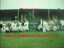 Turma B do Curso de Formação Técnico Profissional de Agente Policial de 1.986.