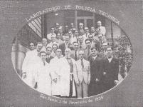 Laboratório de Polícia Técnica, em 01 de fevereiro de 1.935.