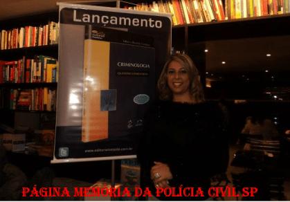 Título do livro: Criminologia. Autora: Delegada de Polícia Mônica Mônica Resende Gamboa. Editora: Método.