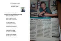 O escritor Felisbelo da Silva é Investigador de Polícia de São Paulo aposentado e hoje vive em Salvador- Bahia. Já escreveu 999 livros. Este soneto homenageando o Delegado de Polícia Paulo Roberto de Queiroz Motta, ele vai publicar em sua obra de número 1.000, que lançará brevemente.