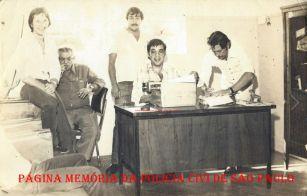 Policiais Civis do Município de Ourinhos, na década de 70.