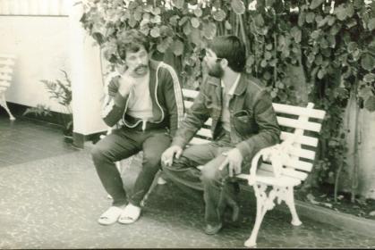 Policiais de Santos em 1978 Ligeirinho e outro PC.
