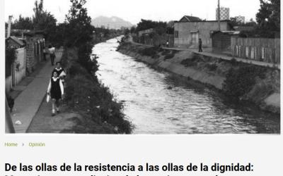 De las ollas de la resistencia a las ollas de la dignidad: Memorias y aprendizajes de las mujeres populares en épocas de crisis