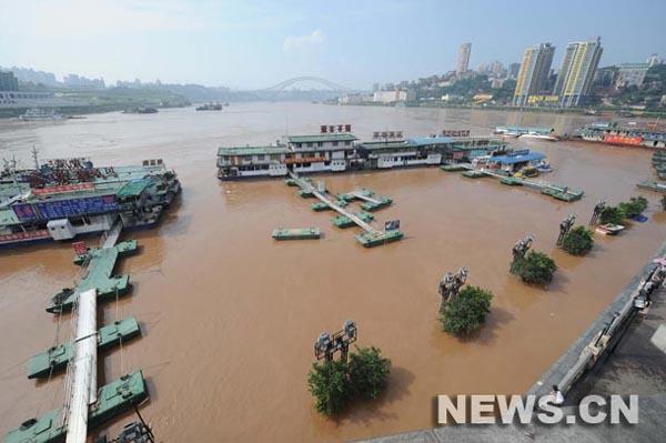 Chongqing inundaciones