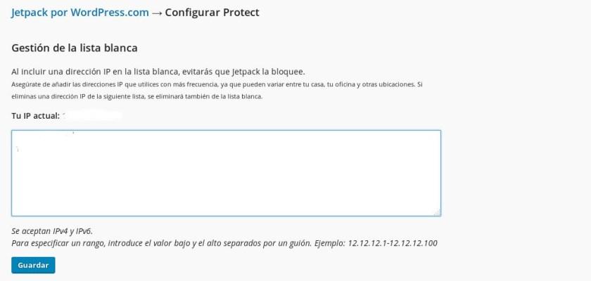 Protect restringe el acceso a xmlrpc, reduciendo la vulnerabilidad de tu WordPress.