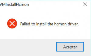hcmon driver issue