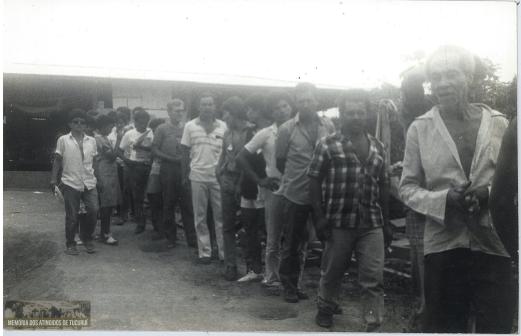 41 - Primeiro Acampamento - Memoria dos Atingidos de Tucuruí