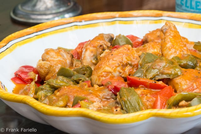 Pollo coi peperoni (Chicken and Peppers)